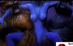 Gameplay - Warcraft orcs clan punish elf w boobs【FREEHGAME.COM】