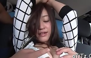 Lovely japanese with beautiful knockers enjoyments with spoken sex