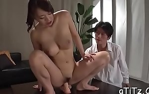 Large boobs japanese beau shows not present her ultra titillating butt
