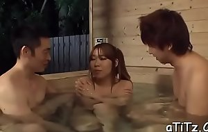 Large boobs asian gets wicked toying depending on her fur pie is inordinately wet