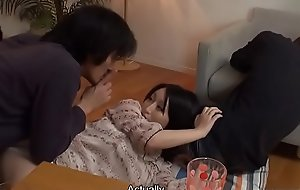 Japanese plumper, Yuna Hoshizaki fucked her overcome exotic university, bursting