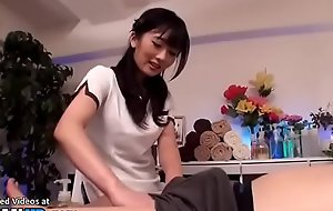 Japanese beauty gives incredible knead