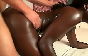 African god creampied apart from white load of shit