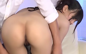 From Japanese whore Nozomi Koizumi thither Horny JAV uncensored Facial cumshot clip