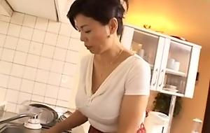 Japanese granny nailed hard in several clash