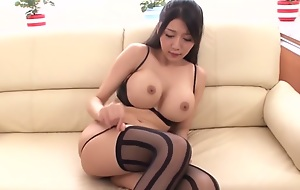 Unreasonable Japanese whore Miho Ichiki in Best JAV censorable Fingering, Chubby Chest motion picture