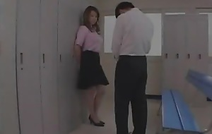 Yumi Kazama in Big Mamma Teacher