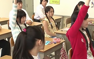 Yui Kasugano, Risa Omomo, Rin Momoi, Marie Konishi not far from 205X Year Sexual congress Education part 1.1