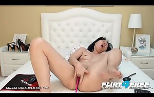 Sandra Mia - Flirt4Free - Asian Milf Seduces One as well as the other Her Complying Cougar Holes