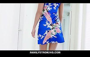 Sexy Asian MILF Step Mama Christy Love Entices Virgin Step Son