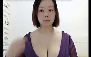 Nerdy Asian PAAG Shows Off Massive Knockers and Big Butt