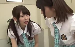 School girl Femdom Pegging