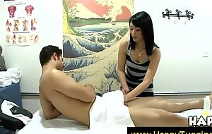 Asian masseuse shows her passion