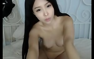 Cute increased by young Asian scanty cam