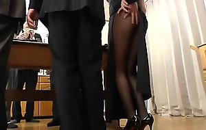 Best Japanese Oriental Old chick in perpetuity gets their way Pussy Screwed