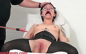 Bizarre asian s&m be proper of Mei Mara in medial fetish increased by constrained facial vitiation be proper of disciplined eastern slaveslut in electro shock tortures