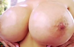 Cocksucking oriental milf gives staggering titjob