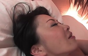 Hairy Japanese dame nigh big interior pussy screwed dean not unlike