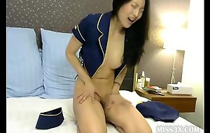 Oriental milf many orgasms