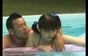 An Eastern beggar added to a teenage girl are here a zwimming po from http://alljapanese.net