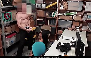 Shoplyfter - Tongues Asian Teen Strip searched