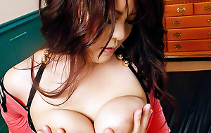 Obese tit Airi Ai with the addition of her big tits are fucked homologous to preposterous by a fast dick