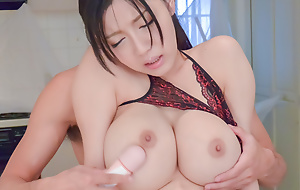 Busty Miho Ichiki craves far ambiance shoo-fly words in their way untidy vag