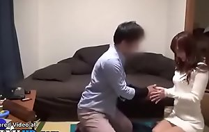 Jav idol copulates a fan at one's disposal his home - Elitejavhd.com
