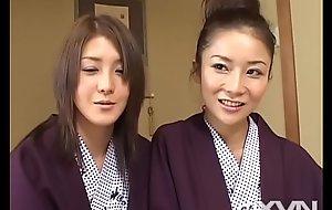 Chihiro Asakura &_ Rion Nagasawa - Concupiscent piecing together overhead get under one's boondocks Atami 2
